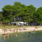 Camp Stoja Pula beach