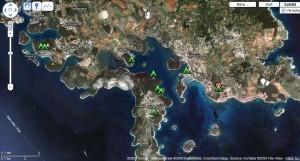 kartan Camping Istrien