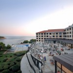 Pula hotel Histria outside view