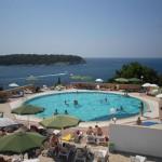 Pool area Hotel Histria Pula