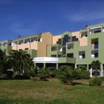 Outside view Hotel Palma Pula