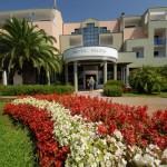Hotel Palma Pula Flowers as welcome