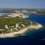 Verudela Beach Resort Airphoto