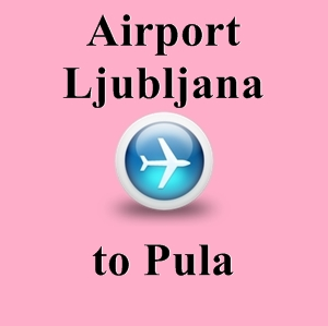 how to get from ljubljana airport to city centre